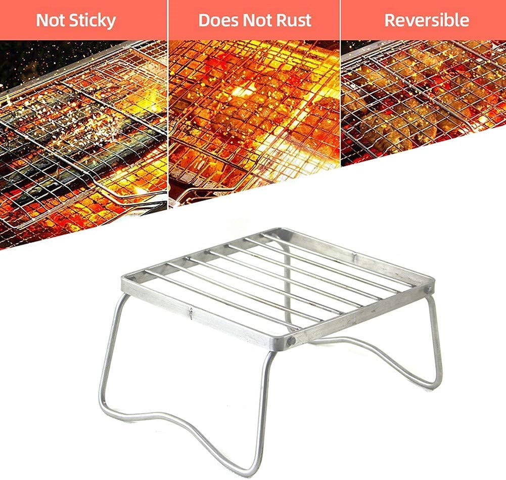 othulp Grille De Barbecue Grille Barbecue Poissons Grill pour Barbecue Barbecue Griller Tapis Non Bâton Barbecue Grill Tapis Non Bâton Barbecue Grill Tapis L L
