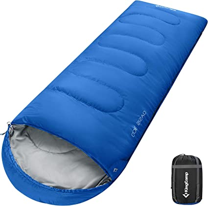 Extra Large Outdoor Camping Sleeping Bag Mummy Tent Hiking 4 Season Winter Thick