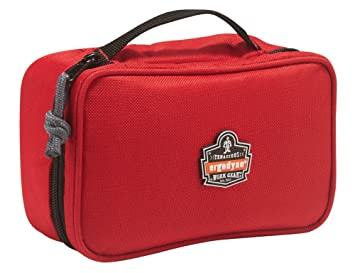 24f963896890 Ergodyne Arsenal 5876 Clamshell Organizer Zippered Pouches, Small, Red