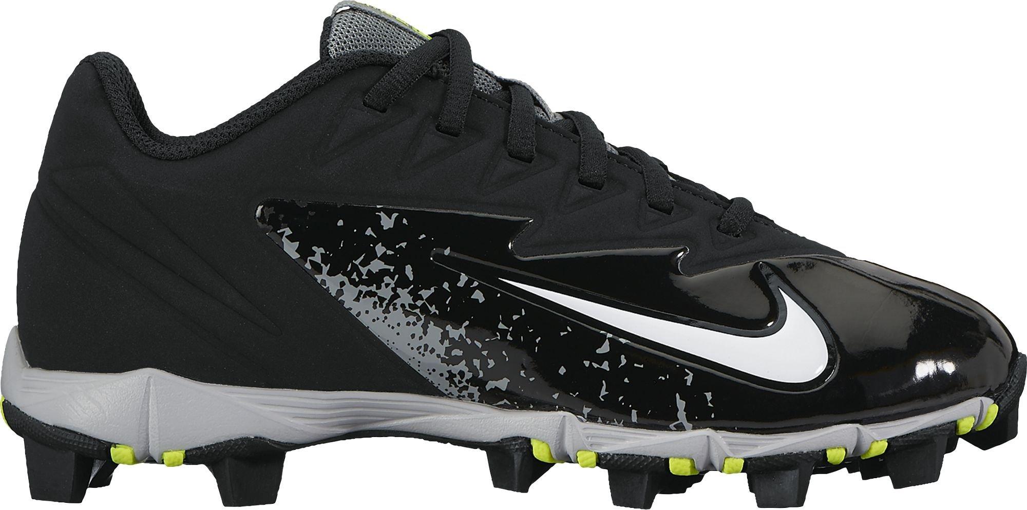 Nike Boy's Vapor Ultrafly Keystone Baseball Cleat Black/White/Wolf Grey/Cool Grey Size 13 Kids US