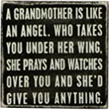 Primitives By Kathy Box Sign, A Grandmother