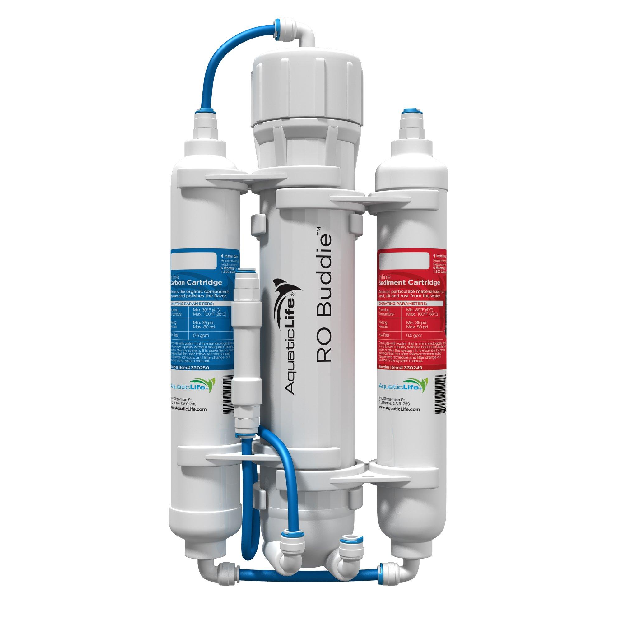 Aquatic Life RO Buddie Three Stage Reverse Osmosis, 50-Gallon by Aquatic Life