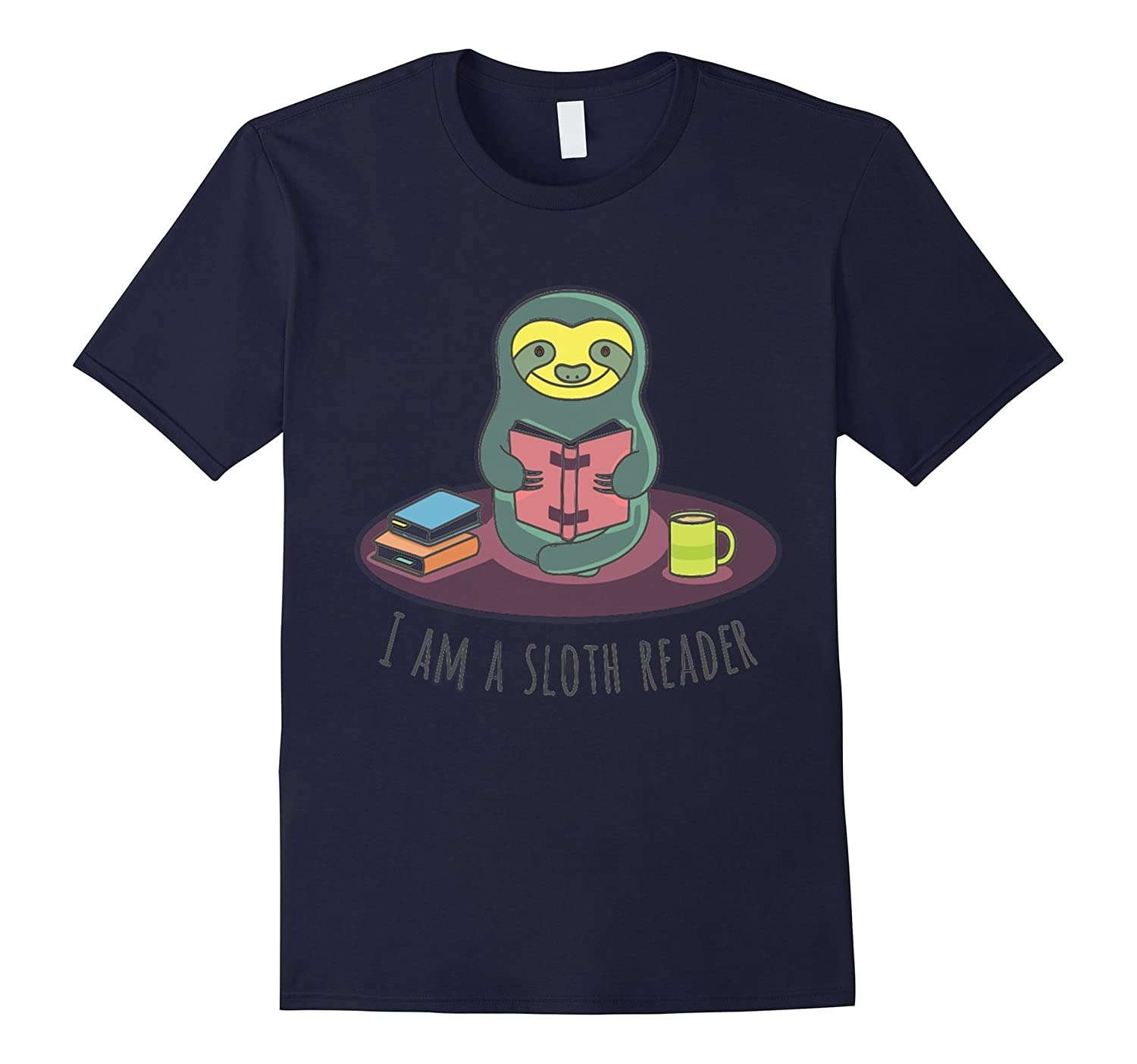 I am a sloth reader Tshirt-TD