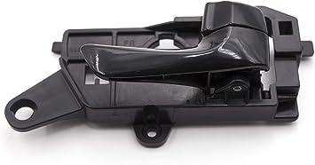Otois Interior Door Handle 82620-3K520HZ Front Right Textured Black for Hyundai Sonata 2008 2009 2010