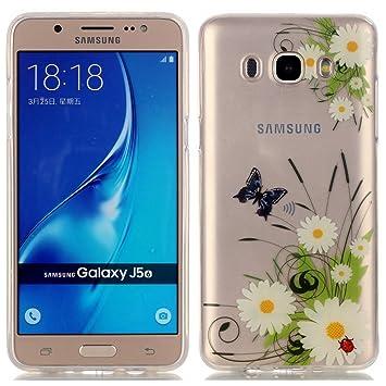 Samsung Galaxy J5 (2016) Funda, LOOCOO TPU Funda de Silicona de ...