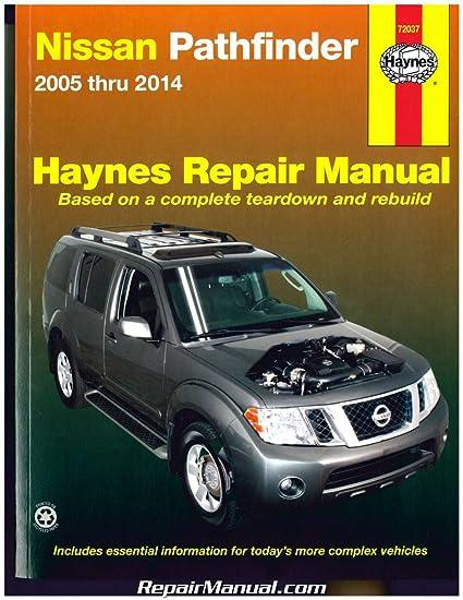 amazon com h72037 haynes nissan pathfinder 2005 2014 auto repair rh amazon com 1997 Nissan Sentra Repair Manual 1997 Nissan Sentra Repair Manual