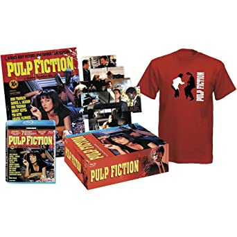 Amazon com: Pulp Fiction - Pack Collector (Blu-Ray + Tshirt