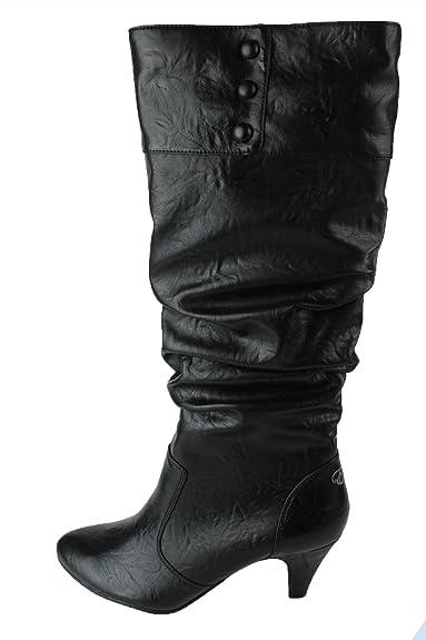 a1370c26a8e3e1 Esprit Ivon Boot Damen Stiefel Schwarz Gr 41 Black (001) V10906 ...