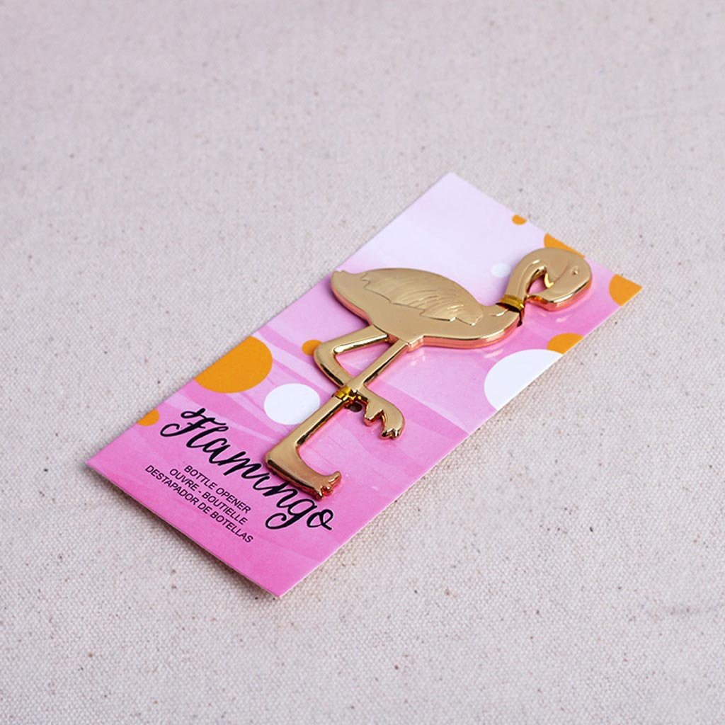 Amazon.com: Dovewill Golden Flamingo Bottle Opener Wine Beer ...