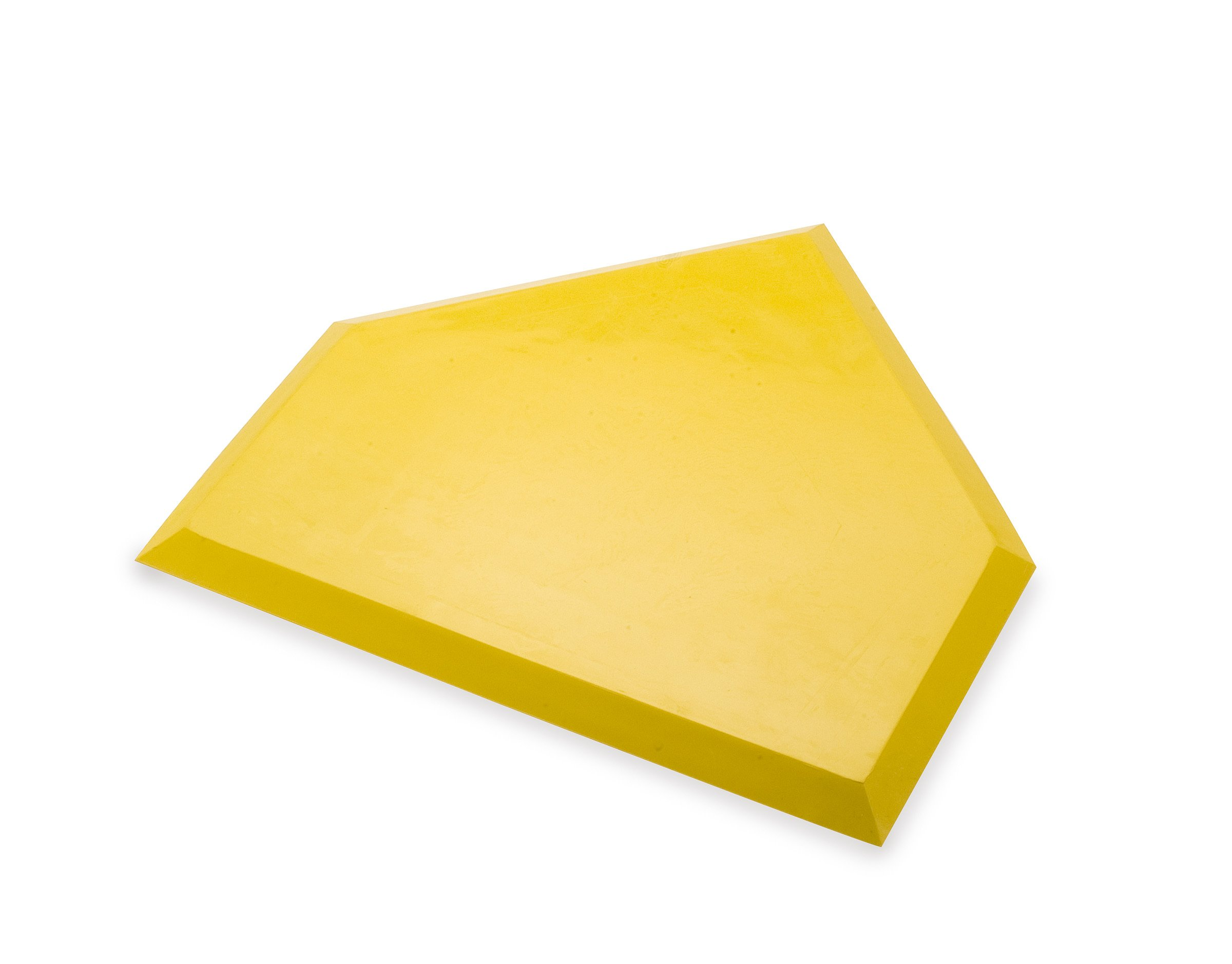 Athletic Specialties Heavy Duty Home Plate without Stakes  (Yellow) by Athletic Specialties