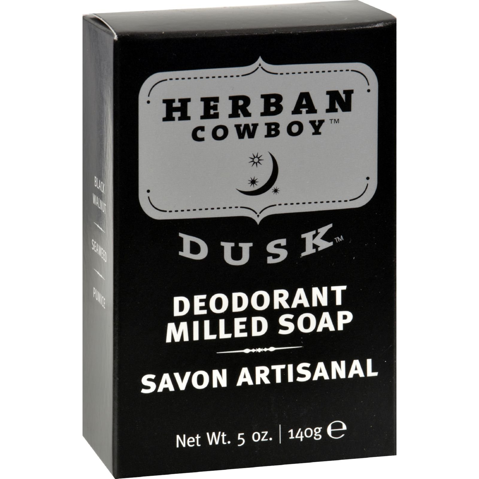 Herban Cowboy Dusk Milled Soap, 5 oz.