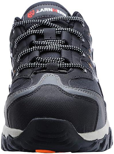 Zapatos de Seguridad para Hombre Zapatillas de Seguridad Trabajo Industrial y Deportiva con Puntera de Acero LM-105: Amazon.es: Zapatos y complementos