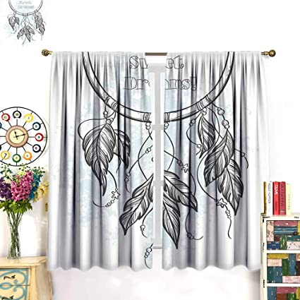 Amazon com: Sweet Dreams Decor Curtains by Doodle Hand Drawn