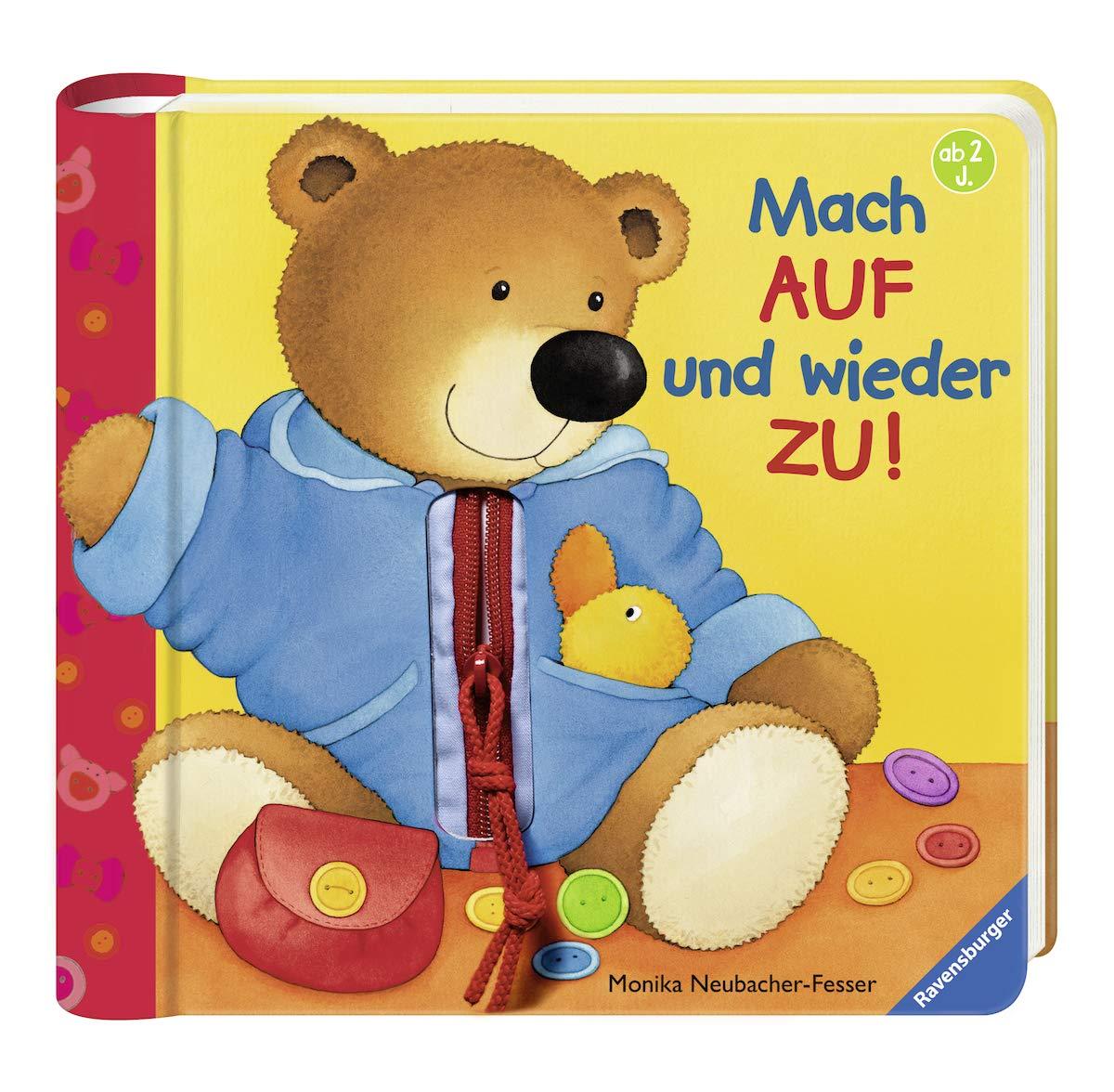 Mach auf und wieder zu!: Fühl- und Spielbuch Spiralbindung – 1. Januar 2009 Sandra Grimm Monika Neubacher-Fesser Ravensburger Buchverlag 3473314811