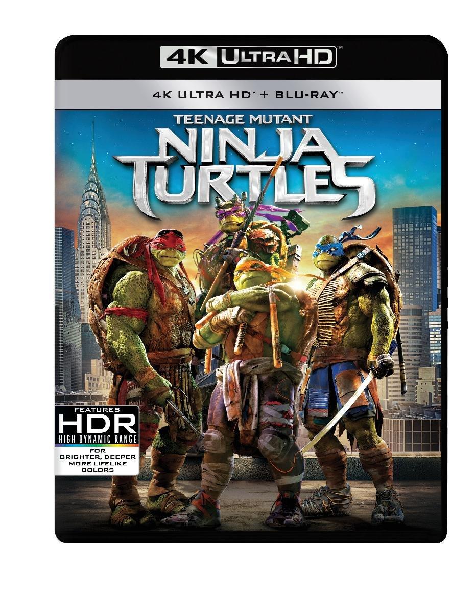 Teenage Mutant Ninja Turtles 20144K UHD2018Region Free