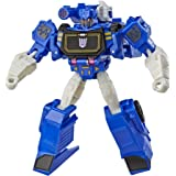 Transformers Cyberverse Action Attackers Warrior Class Soundwave 动作公仔玩具