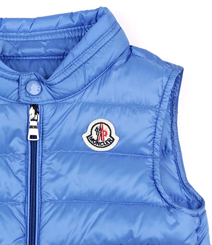 5e0c566a1fcc Moncler Junior Gilet New Amaury Bambino Baby Boy Mod. 4334199  Amazon.co.uk   Clothing
