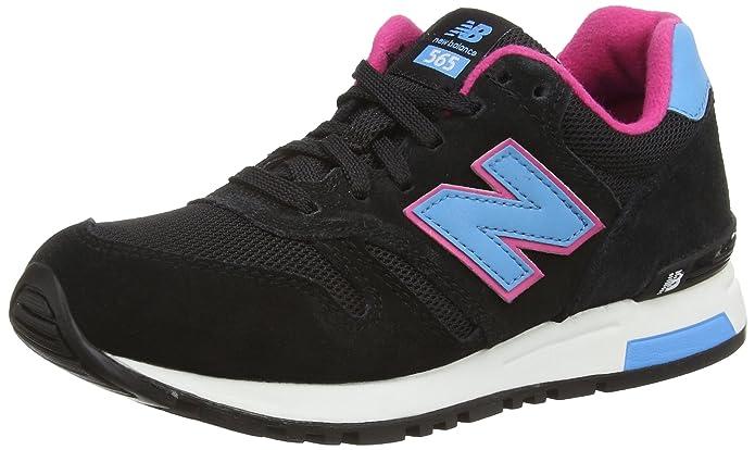New Balance WL565 B - Zapatilla Deportiva de Piel Mujer, Color Negro, Talla 37: Amazon.es: Zapatos y complementos