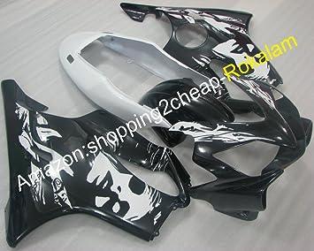 Venta caliente, 04 - 07 CBR 600 F4i moto juego de carenado para CBR600 F4I 2004 - 2007 Mujer para motocicleta embellecedores (moldeado por inyección.