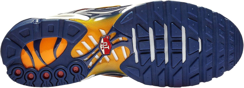 D Nautical Pack Nylon Casual Shoes 10.5 M US Nike Mens Air Max Plus Sail//University Gold//Midnight Navy