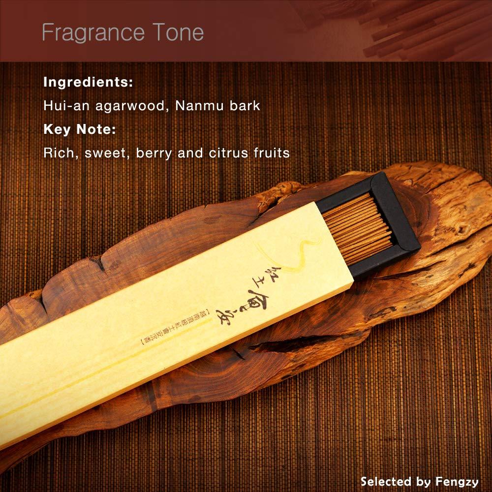Fushankodo for Brand Incense Sticks -Natural Hoi-an Red Clay Agarwood Aloeswood - Origin Hoi-an Vietnam (135mm/5.3'') by Fushankodo (Image #3)