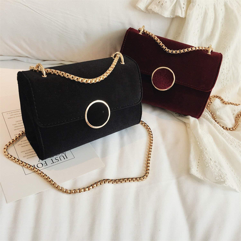 Velvet Small Square Bag Female 2019 Autumn New Fashion Personality Shoulder Bag Casual Wild Messenger Bag
