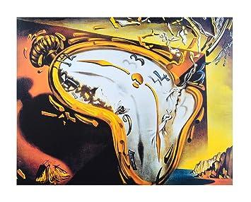 Salvador Dali Póster De La Tiempo de movimiento Relojes de impresión, Ohne Rahmen: Amazon.es: Hogar