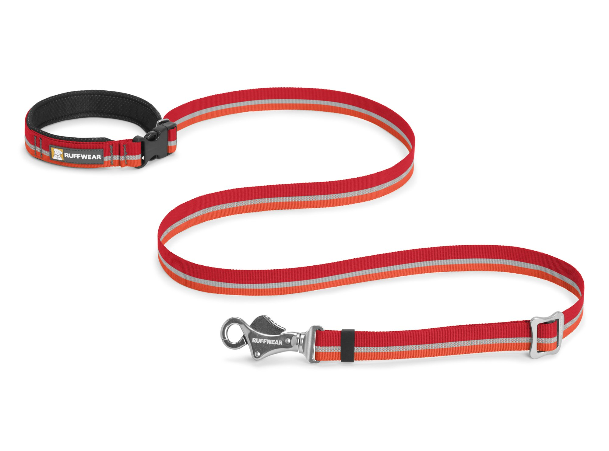 RUFFWEAR - Slackline Leash, Kokanee Red (2017) by RUFFWEAR