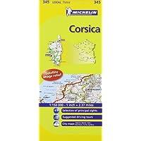 Corsica Michelin Local Map 345 (Michelin Local Maps)
