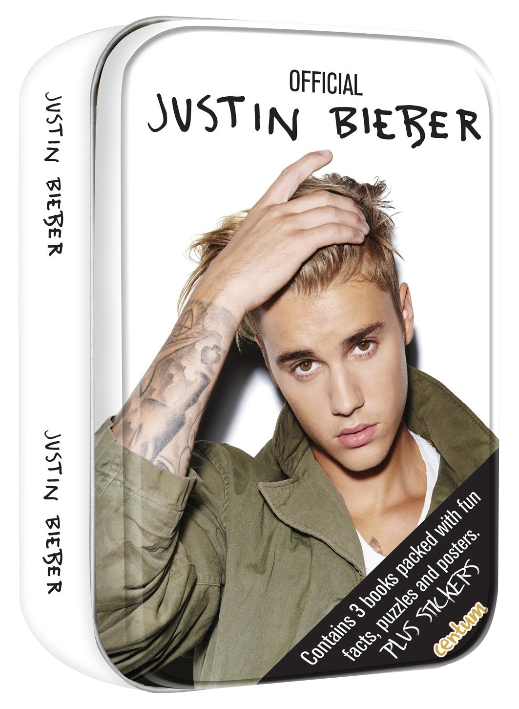 Justin Bieber Tin of Books Amazoncouk Centum Books