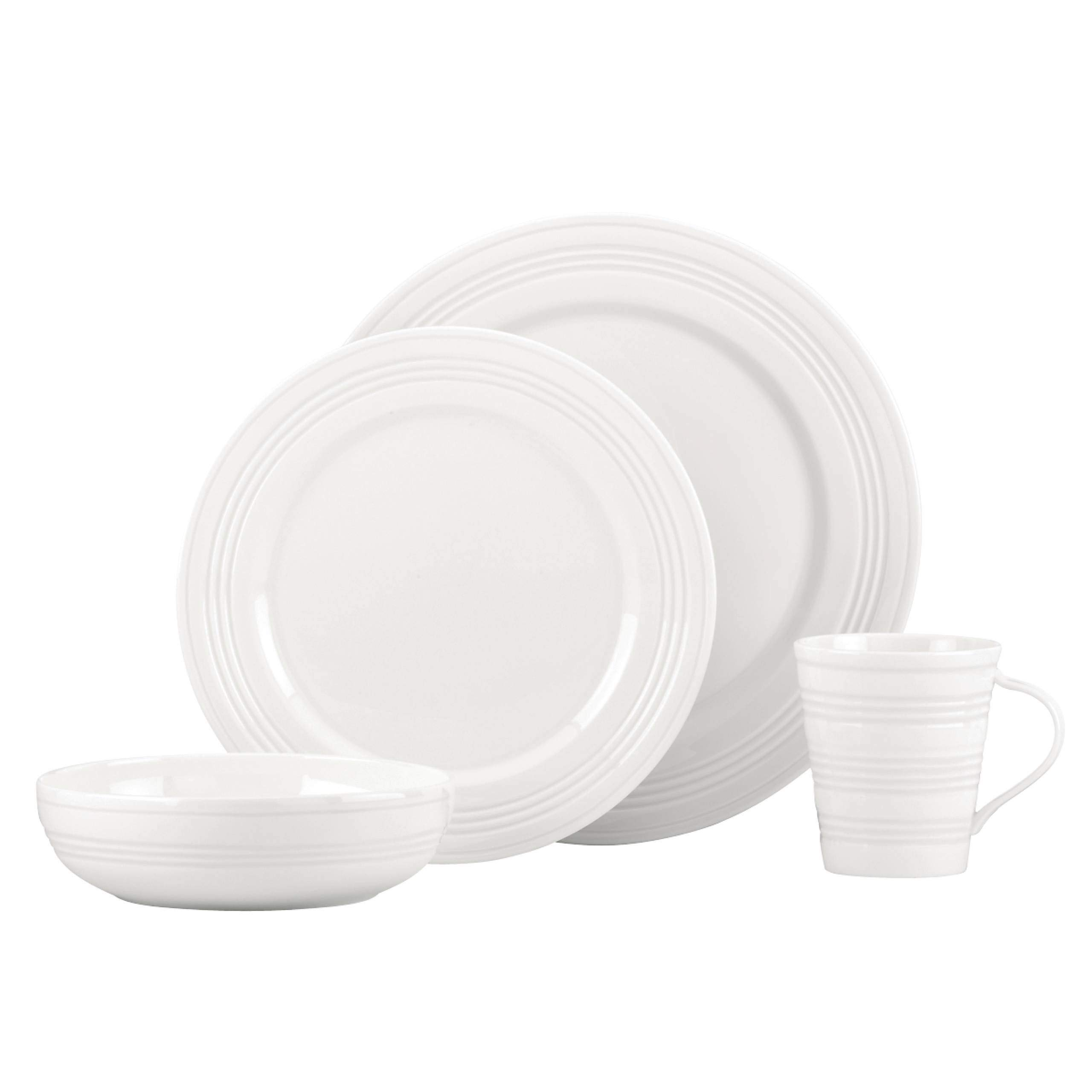 Lenox Tin Can Alley 4 Degree Bone China 4-Piece Place Setting, Service for 1