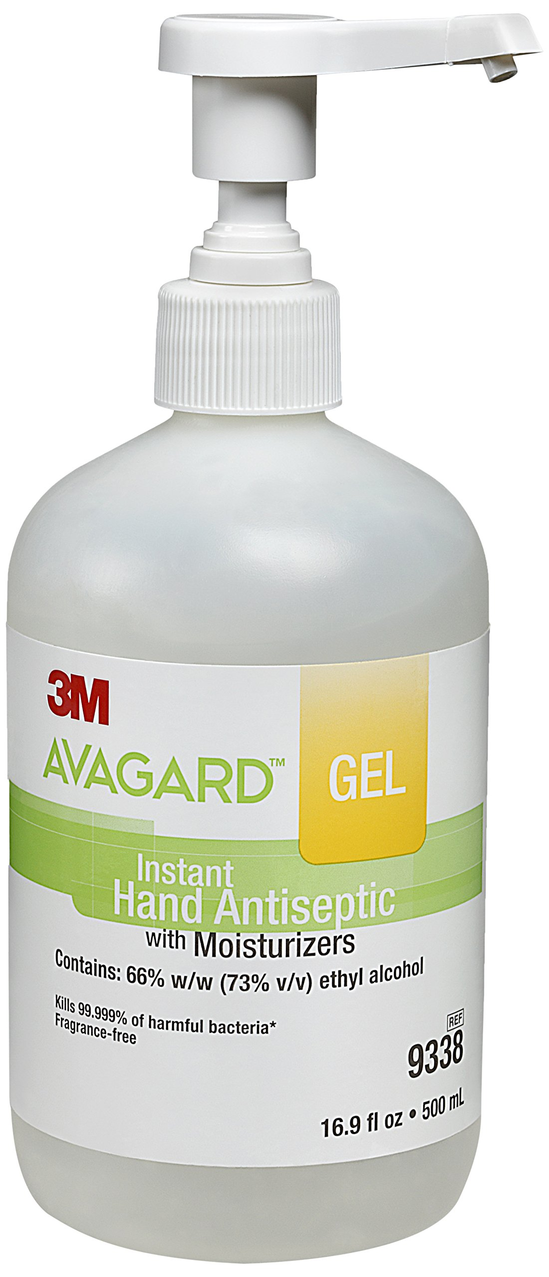 Avagard 9338 Gel Instant Hand Antiseptic with Moisturizers (Pack of 12)