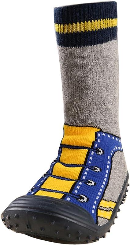 Gaorui Chaussettes B/éb/é Gar/çon Fille Chausson Antid/érapant Chaussures Int/érieures Coton