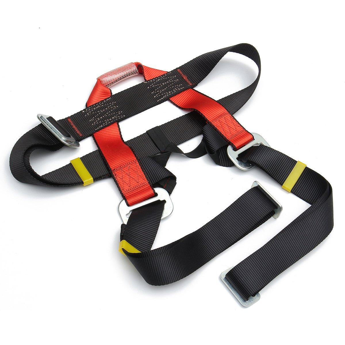 QOJA outdoor mountain rock climbing rappelling harness bust belt by QOJA (Image #3)