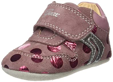 B Geox Tutim A, Chaussures Pour Bébé, Rose (rose Dk), 19 Eu