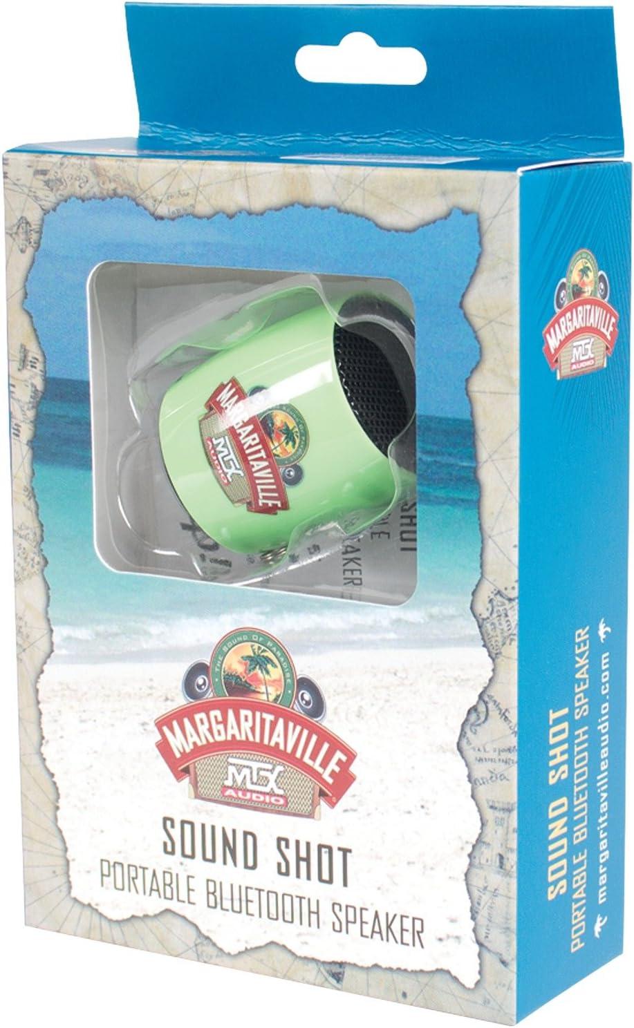 SOUND SHOT Margaritaville Audio by MTX Mini Bluetooth Speaker Green OR Black