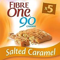 Fibre One 90 Calorie Salted Caramel Bars 5x24g