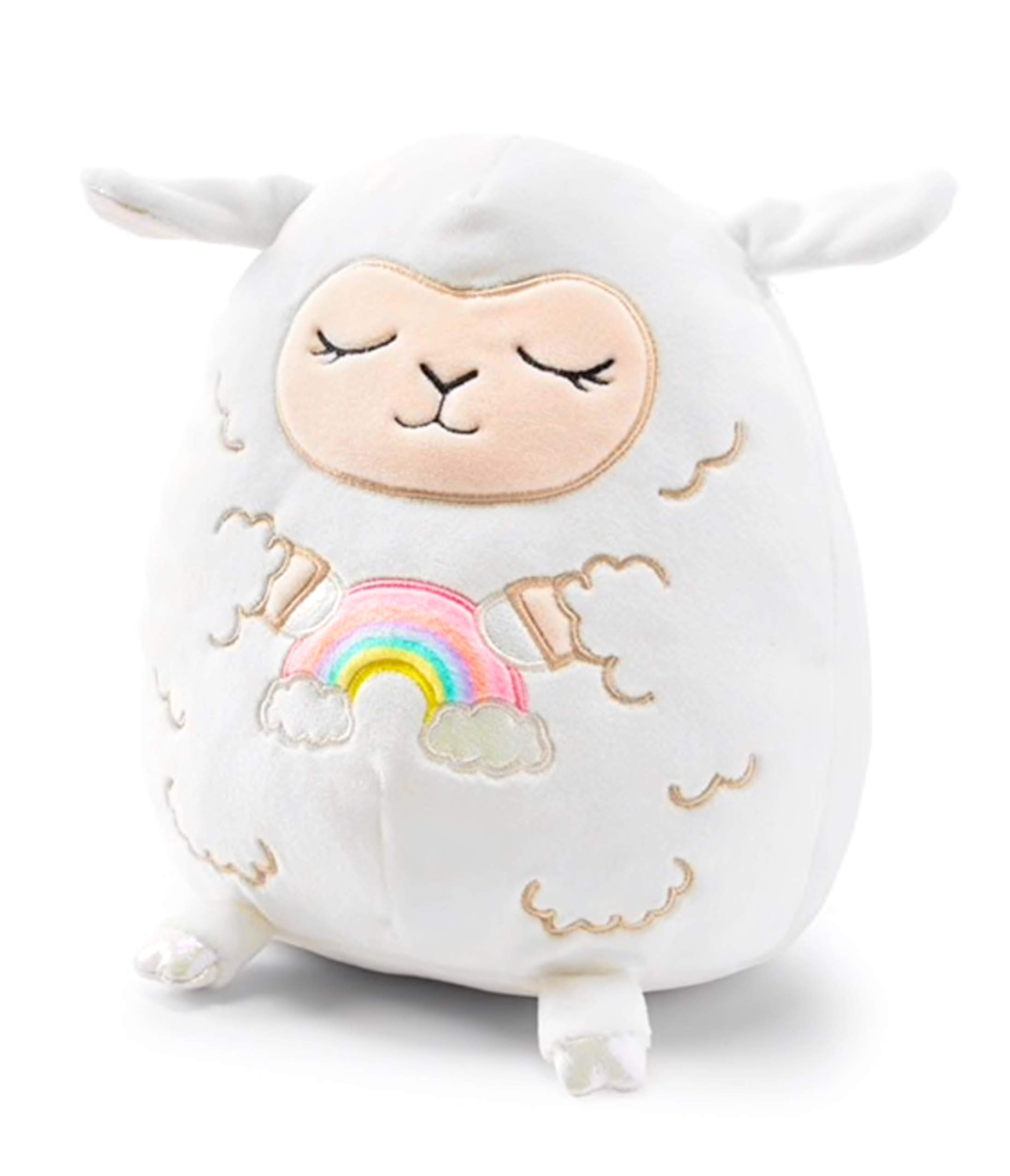 Squishmallows Justice Exclusive Large 16 Inch Blossom The Baby Lamb Vanilla Bean Scented Kellytoy Super Soft Plush Pillow Stuffed Animal