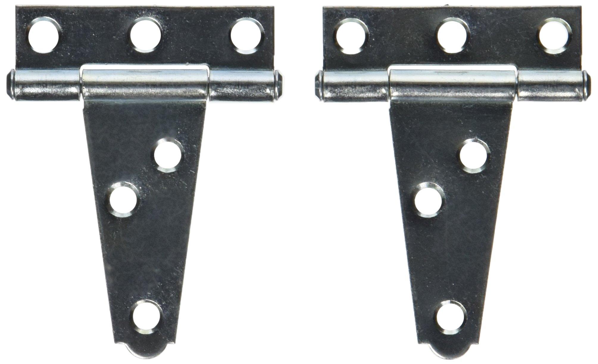 MINTCRAFT LTH-Z02-C23L T-Hinge 2IN Light Duty Zinc