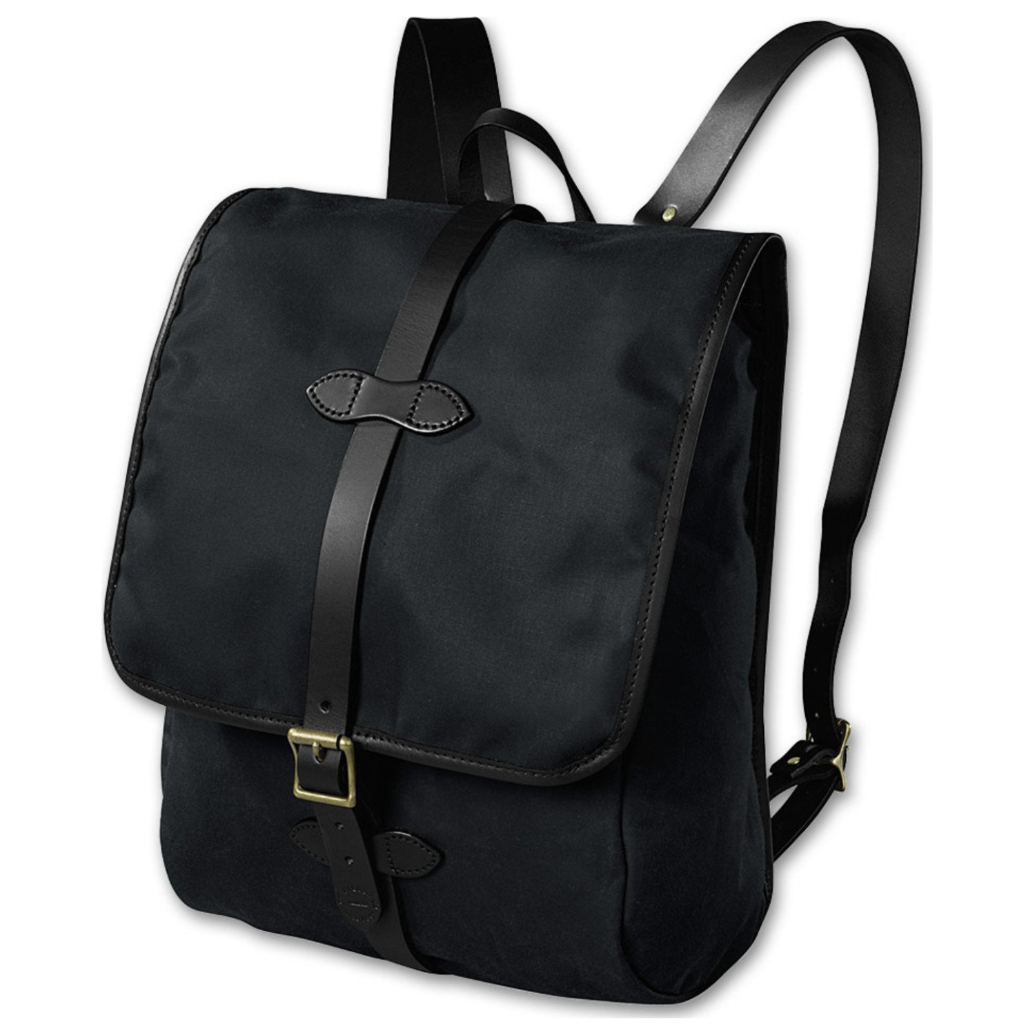 Filson Tin Cloth Backpack - Black by Filson