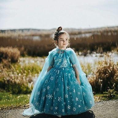 Baiomawzh Disfraz de Princesa Traje del Vestido Traje de ...