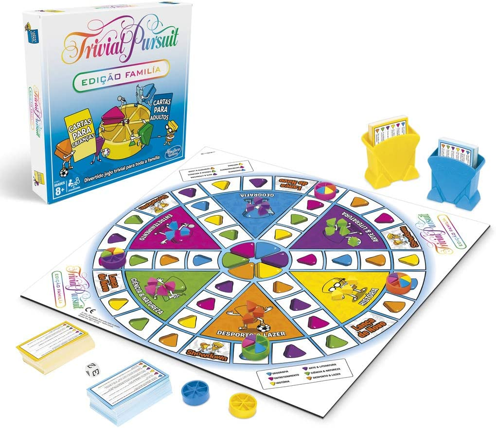 Hasbro Gaming- Trivial Pursuit (E1921190): Amazon.es: Juguetes y juegos