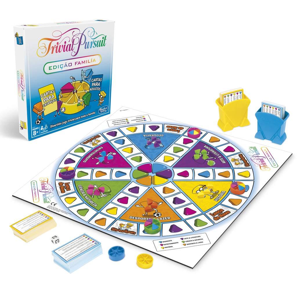 Amazon.com: Hasbro Gaming Trivial Family, Multi-Colour ...