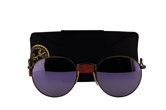 fd59d0e8fa3 Image Unavailable. Image not available for. Color  Ray-Ban RB3447 Round  Metal Sunglasses ...