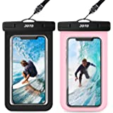 JOTO Universal Waterproof Pouch, IPX8 Waterproof Cellphone Dry Bag Underwater Case for iPhone 12 Pro Max 11 Pro Max Xs Max XR