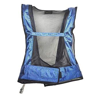 chaleco de refrigeración tubo de vórtice aire acondicionado chaleco aire comprimido refrigeración por hielo ropa en