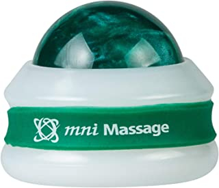 product image for Core Products Mini Omni Massage Ball Manual Roller Massager for Self Massage Therapy Tool, White Cap - Green