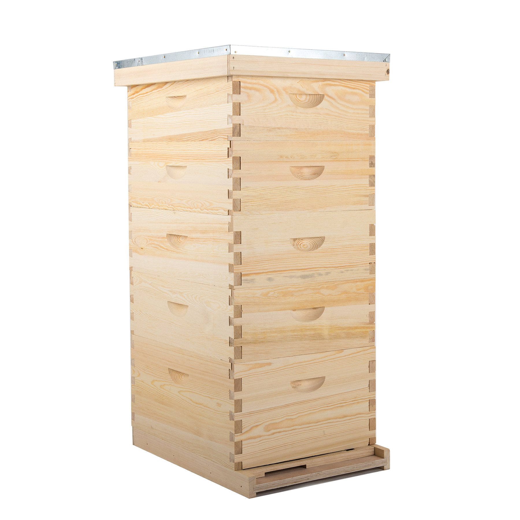 CO-Z 5-layer Bee Hive Boxes, Beehive Kits for for Beekeepers, Bee Keeping Tool Box, Deep Honey Bee Box