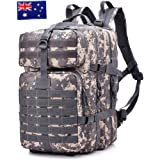Tactical Backpack Military Waterproof Nylon Large Capacity Assault Pack for Hunting Cycling Climbing Trekking Hiking Daypack 40L