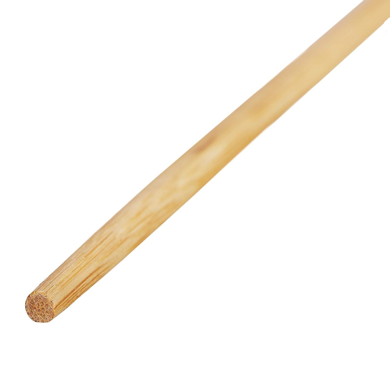 Bambus 24 cm lang chinesische St/äbchen Relaxdays 10 Paar Essst/äbchen lebensmittelecht Einweg Chopsticks Set natur
